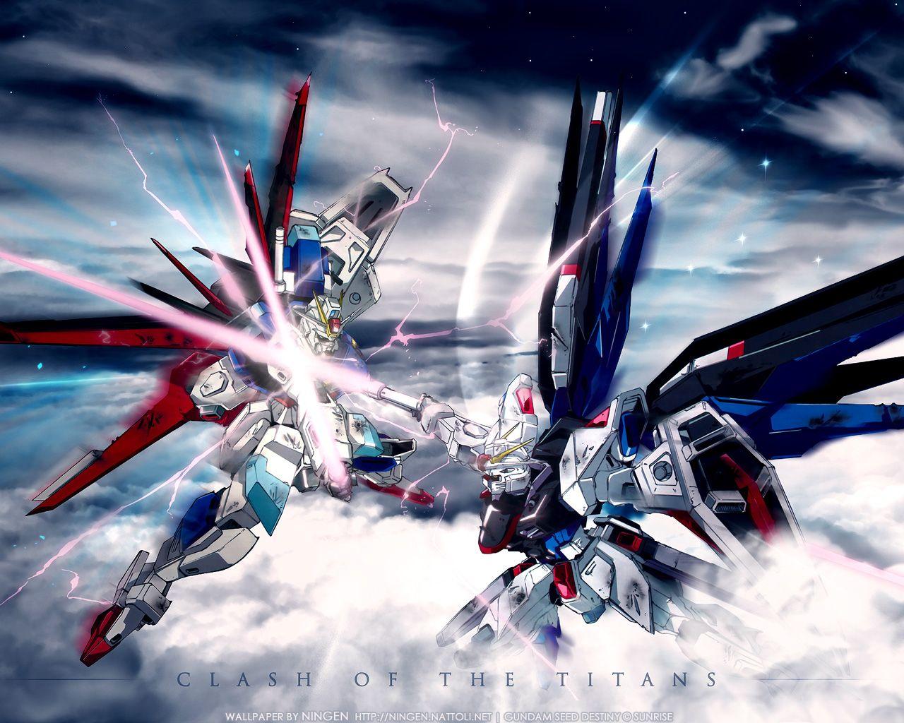 Gundam Seed Destiny Freedom Vs Impulse ガンダムseed 機動戦士