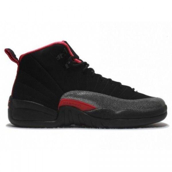 410815 008 Air Jordan 12 Black Siren Red