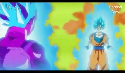 Goku vs Copy Vegeta