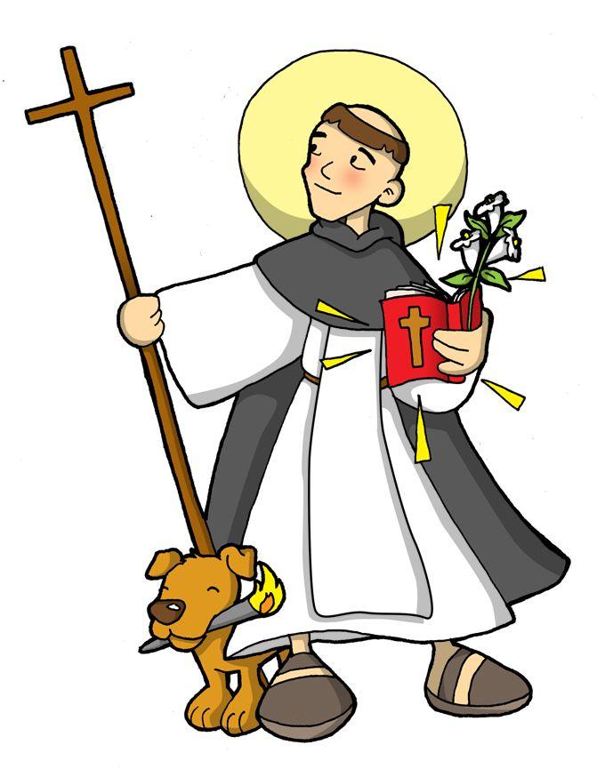 Resultado de imagen de santo domingo de guzman para niños