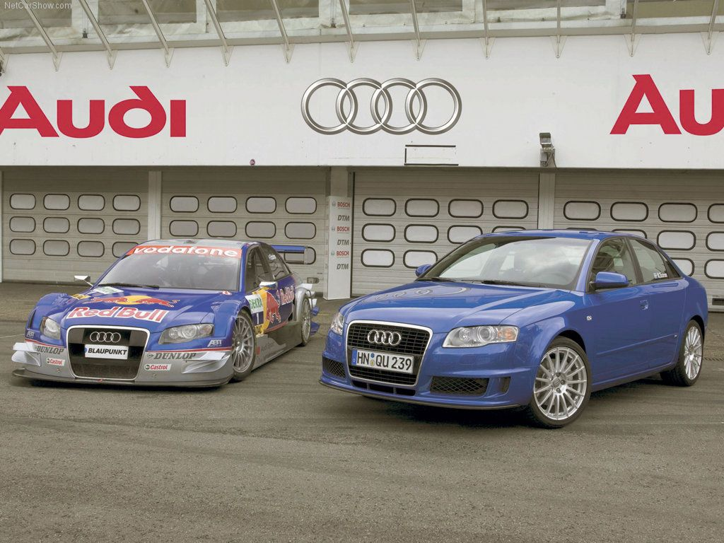 Audi a4 b7 dtm brothers