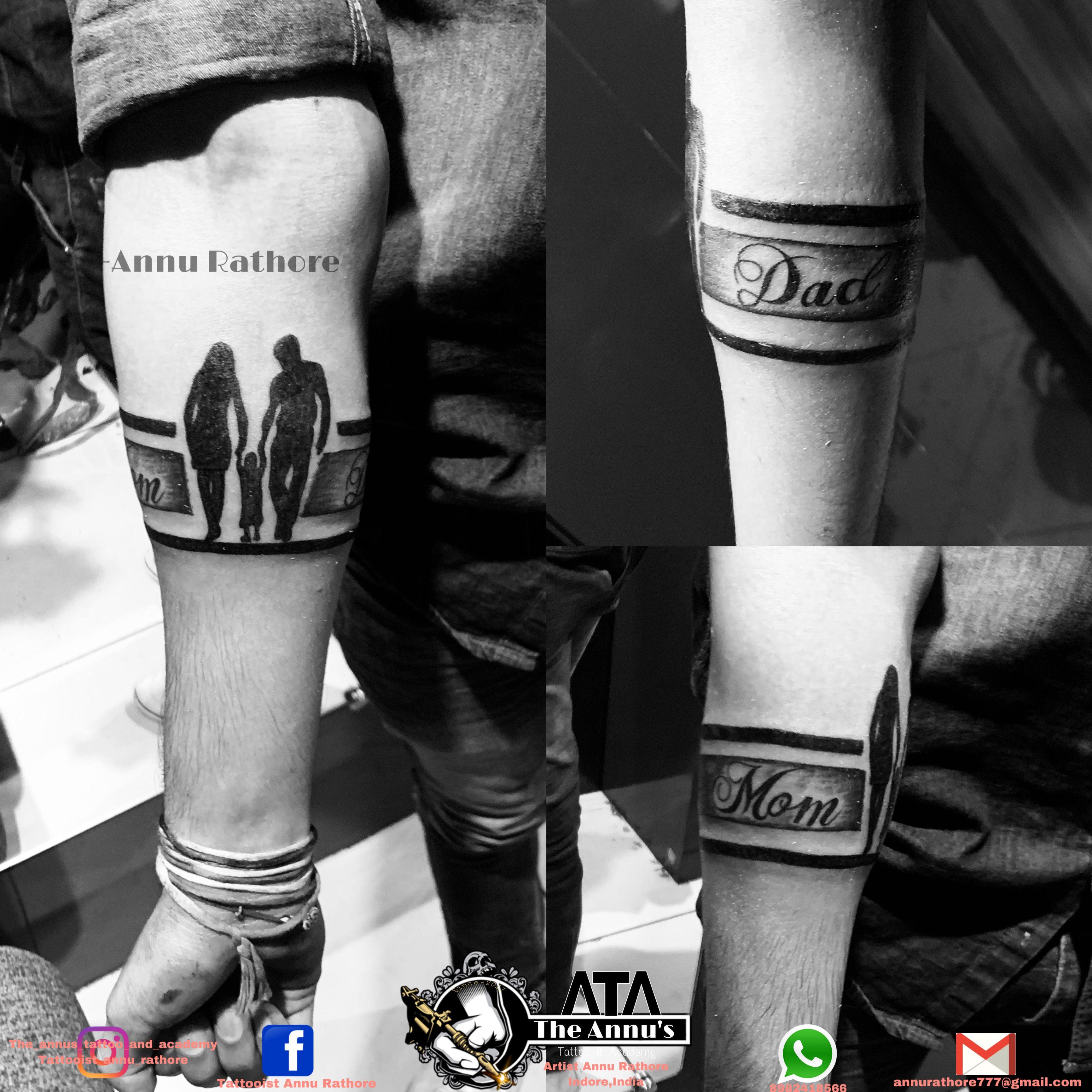 Arm Band Tattoo Mom Dad Tattoos Arm Band Tattoo Band Tattoo Designs