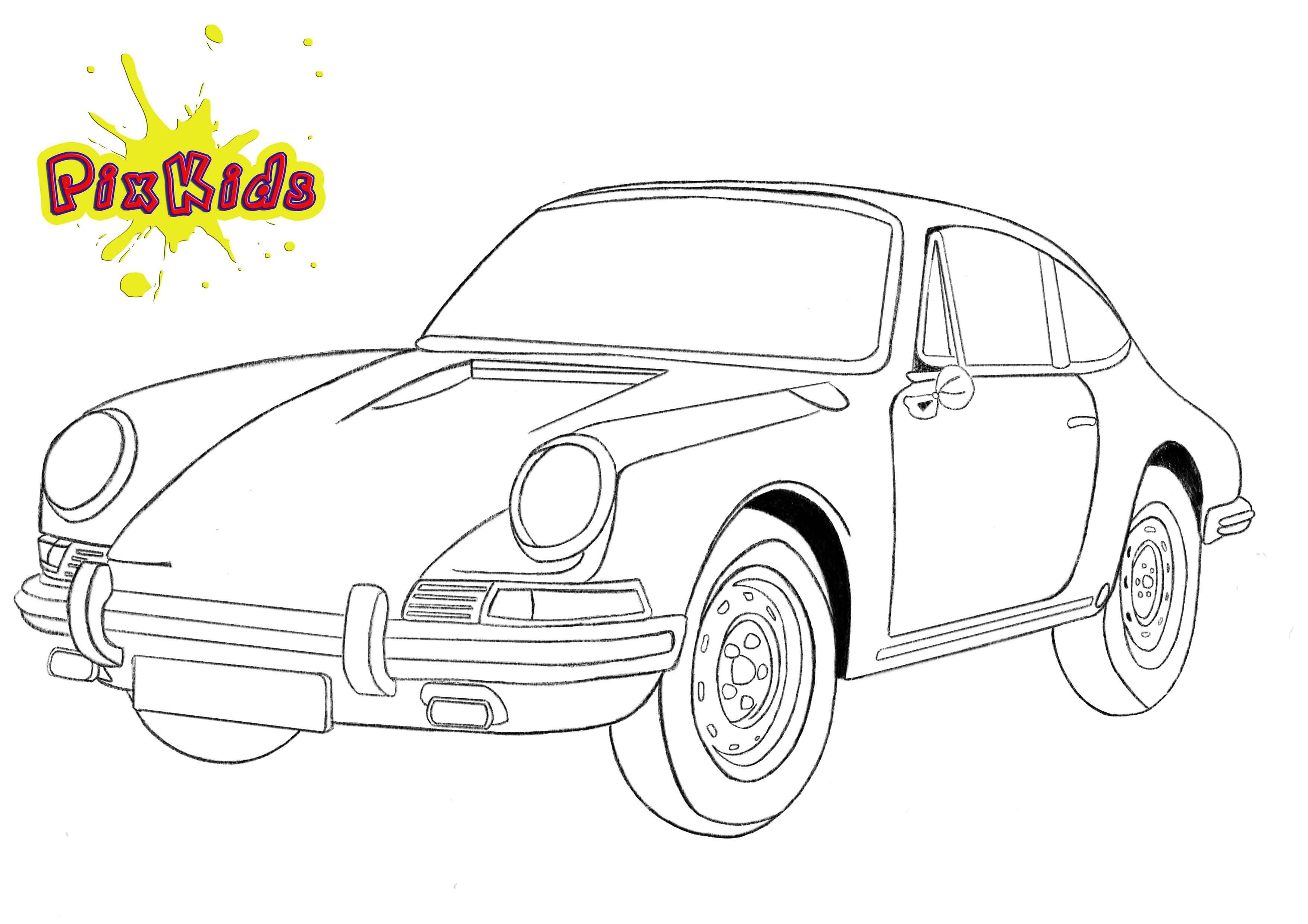 Ausmalbilder Autos Kostenlos Porsche http://www.ausmalbilder.co
