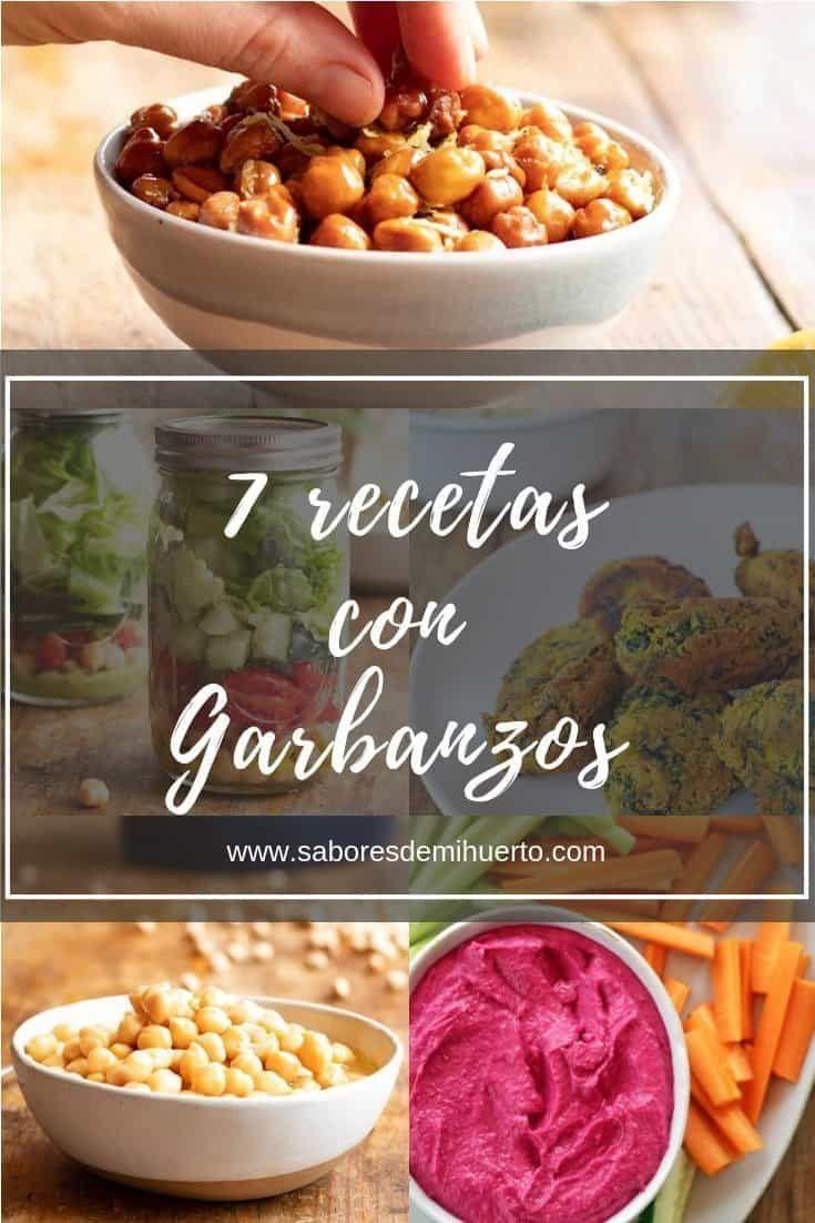 7 Recetas Con Garbanzos