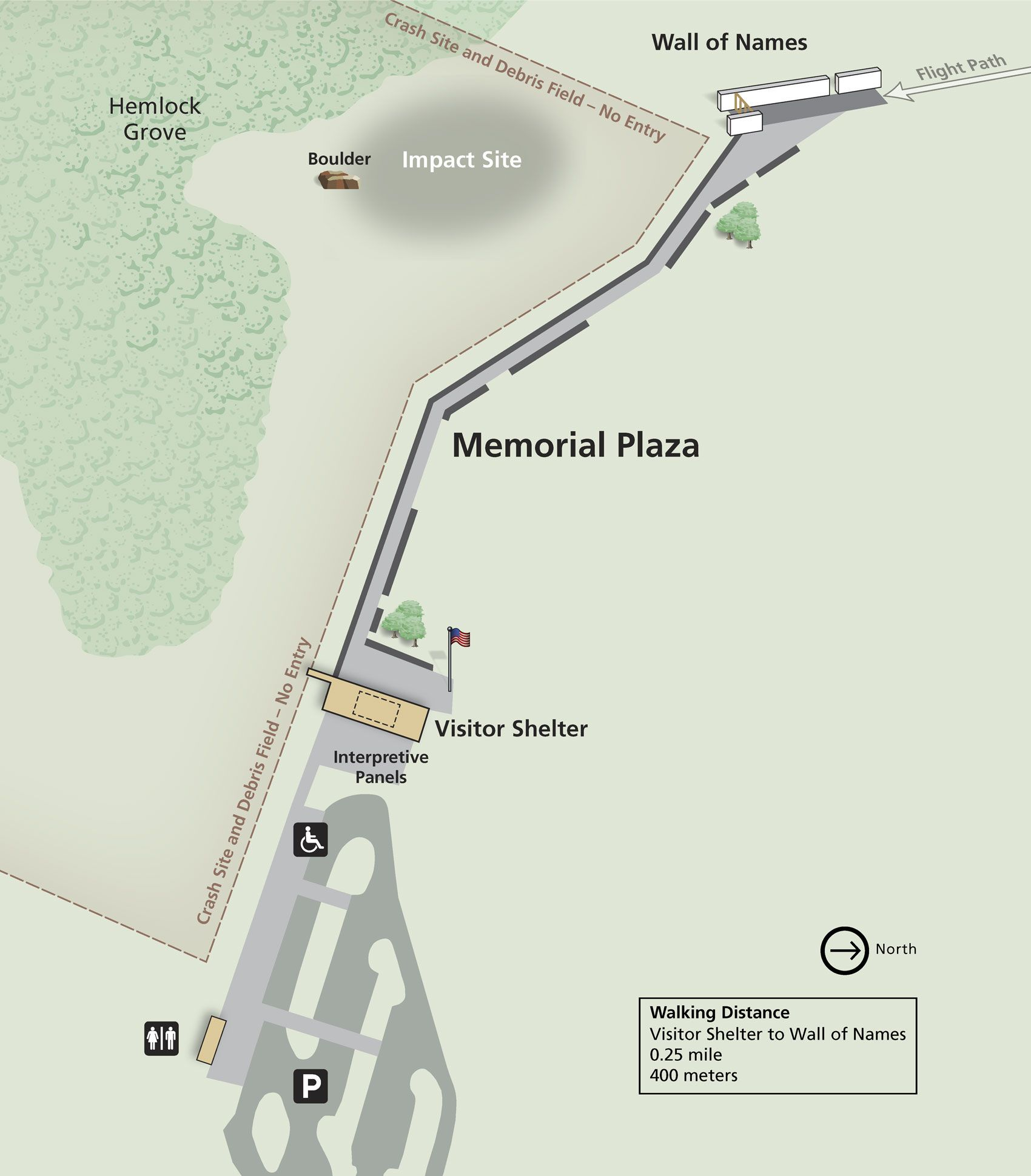 Flight 93 Memorial Plaza Map, Shanksville, Pennsylvania ... on north tower impact, world train center, world missions, twin towers impact, wtc impact,