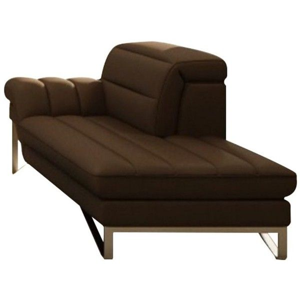 J&M Furniture Astro Leather Lounger 2 100 CAD ❤ liked on
