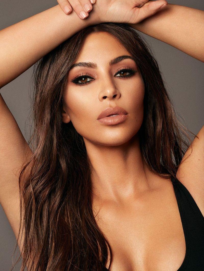 Photo of Kim Kardashian Shines in KKW Beauty Campaign