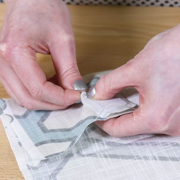 How To Attach Drapery Weights Drapery Curtain Weights Drapery