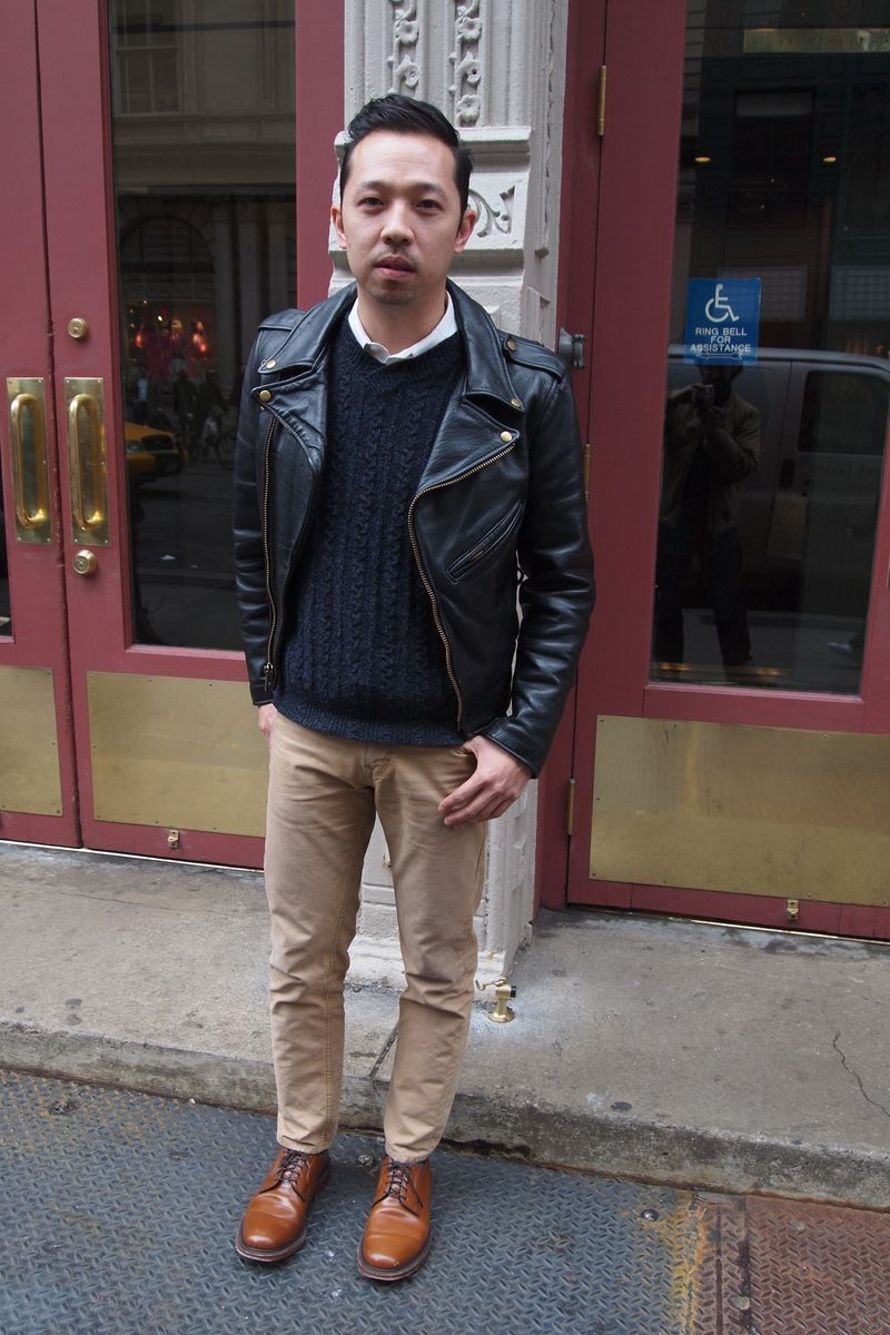 Brown Shoes Black Leather Jacket | Jackets Review
