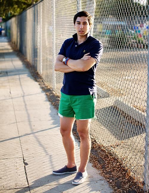 Short shorts. Get them hemmed. Preferably with a cuff. | My Style ...