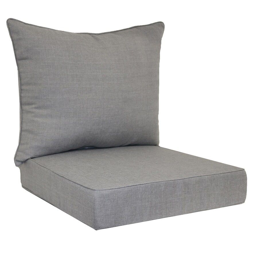Sonoma Goods For Life Indoor Outdoor Deep Seat Cushion Set Outdoor Deep Seat Cushions Deep Seat Cushions Outdoor Seat Cushions