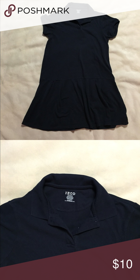 Izod Navy Blue Uniform Polo Dress Navy blue polo uniform dress. Never worn. Izod Dresses Casual