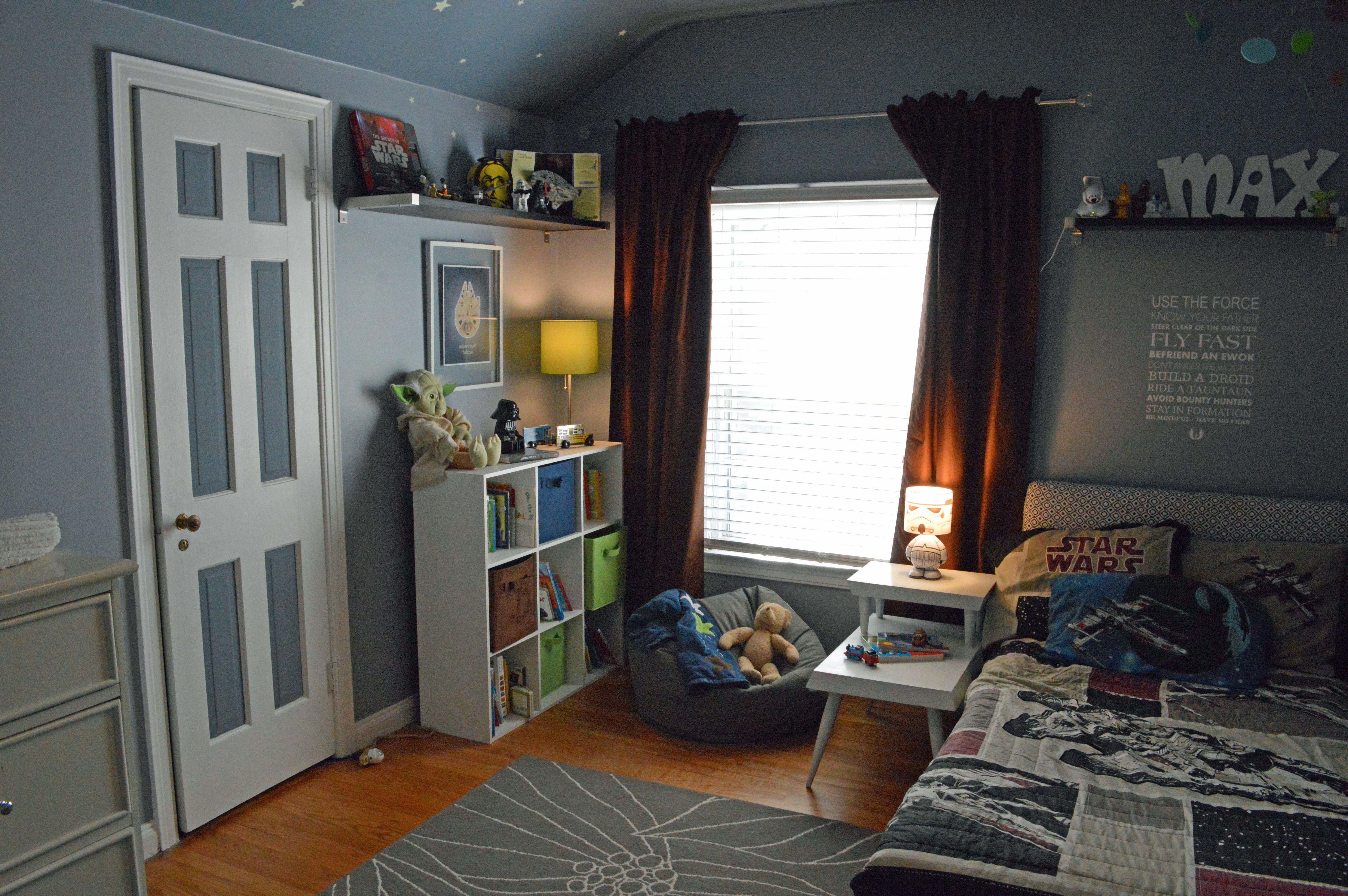 Star Wars Bedroom | refresh design: the blog | Bedroom ideas for ...