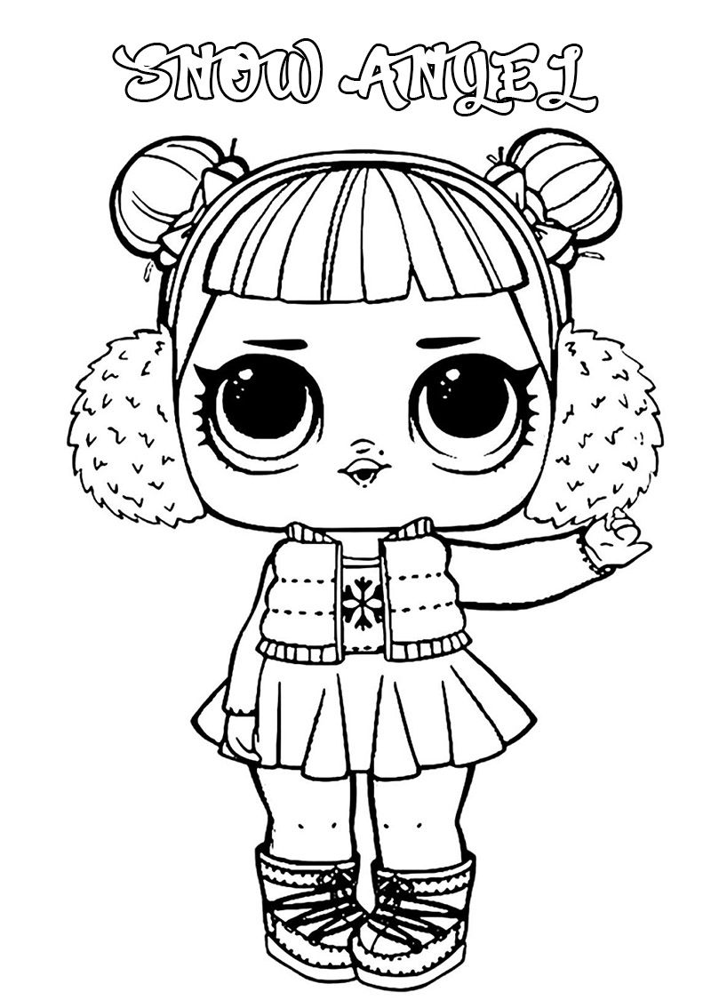 Lol Surprise Dolls Coloring Pages Print Them For Free All The Series In 2021 Lol Dolls Coloring Pages Free Coloring Pages