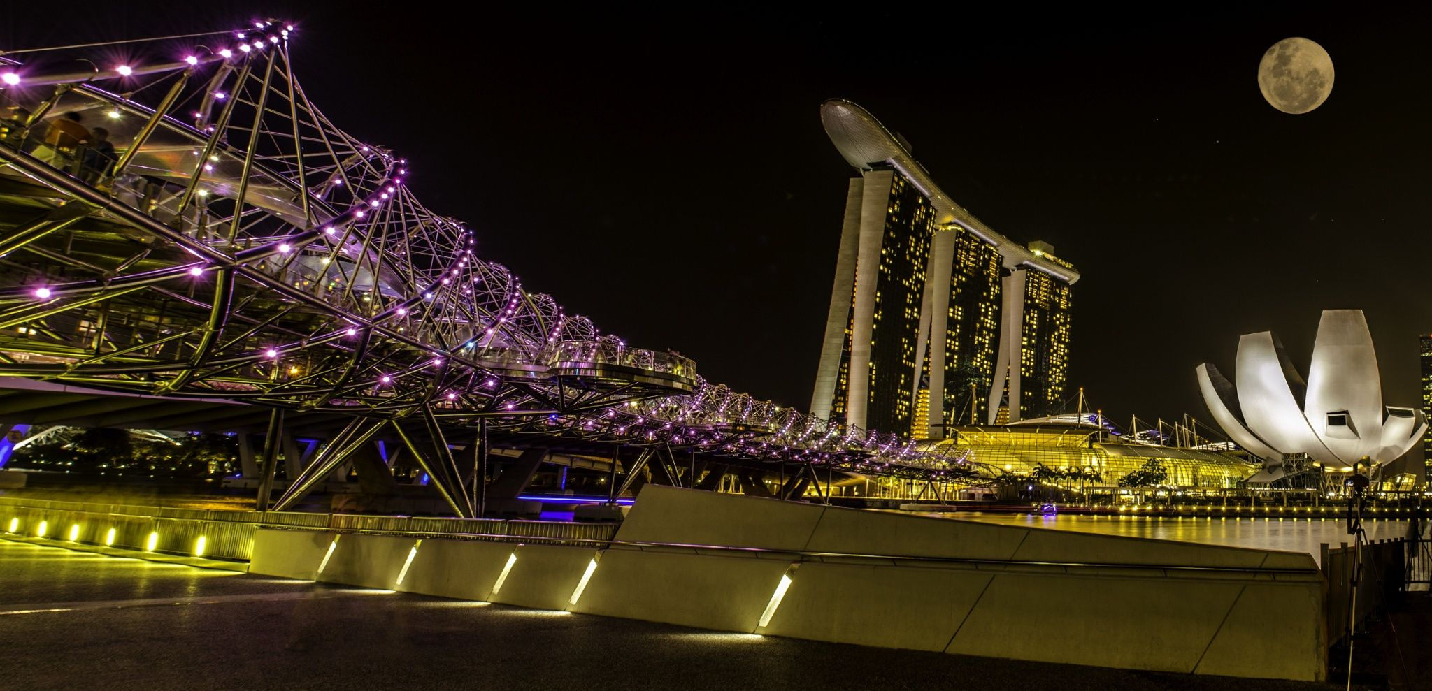 Marina Bay Skyline @ Night