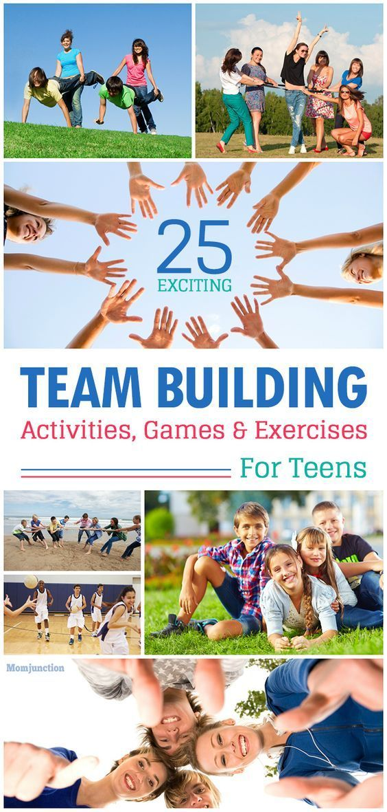 Team building activities for teen what