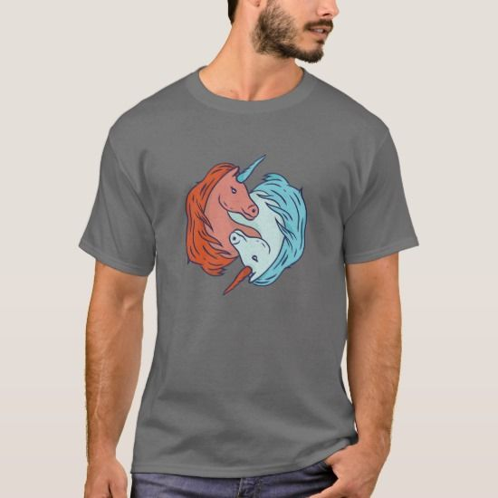 unicorn yin yang tshirt  yin yang shirts t shirt