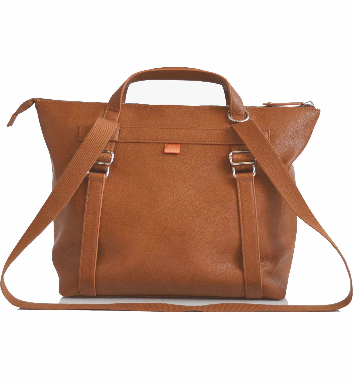 Main Image Pacapod Saunton Faux Leather Convertible Diaper Backpack Leather Diaper Bags Bags Diaper Backpack