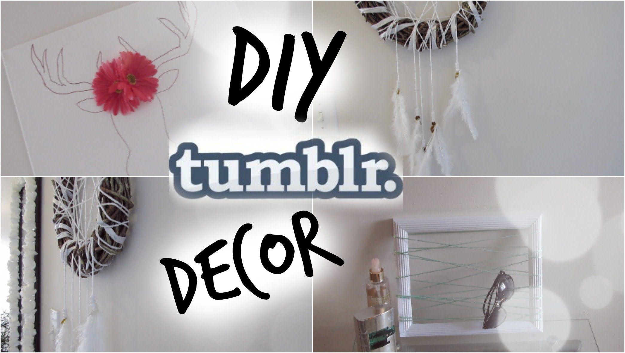 diy tumblr room decor cheap easy pinterest inspired diy