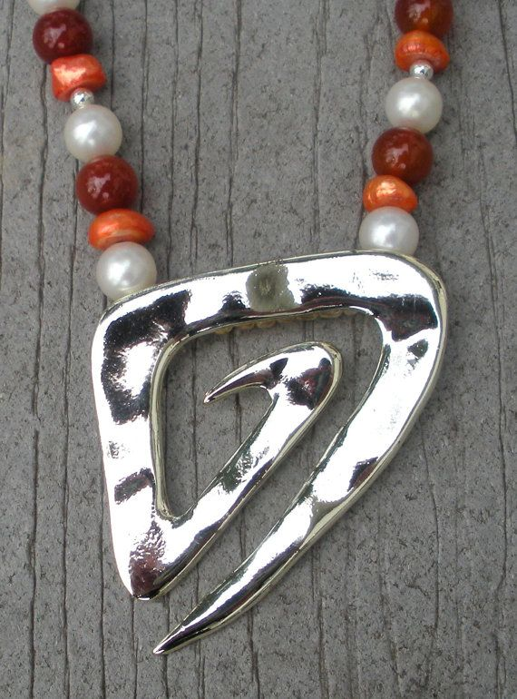 The Color of the MomentTangerine by d3tennis on Etsy, $45.00