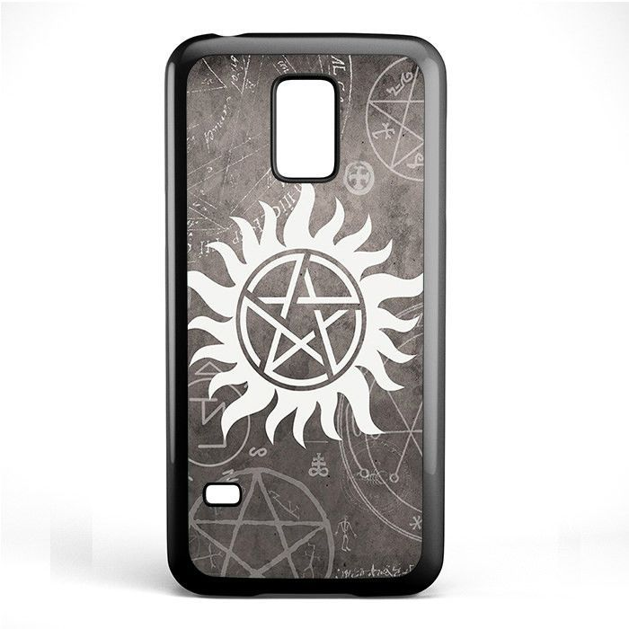 Supernatural Symbol Tv Series Phonecase Cover Case For Samsung