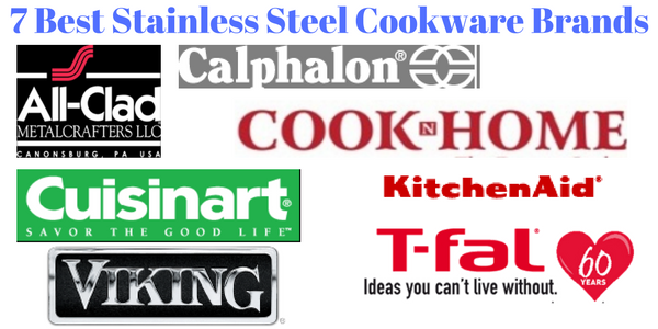 8 Best Stainless Steel Cookware Brands With Reviews Magneticcooky Stainless Steel Cookware Stainless Steel Cookware