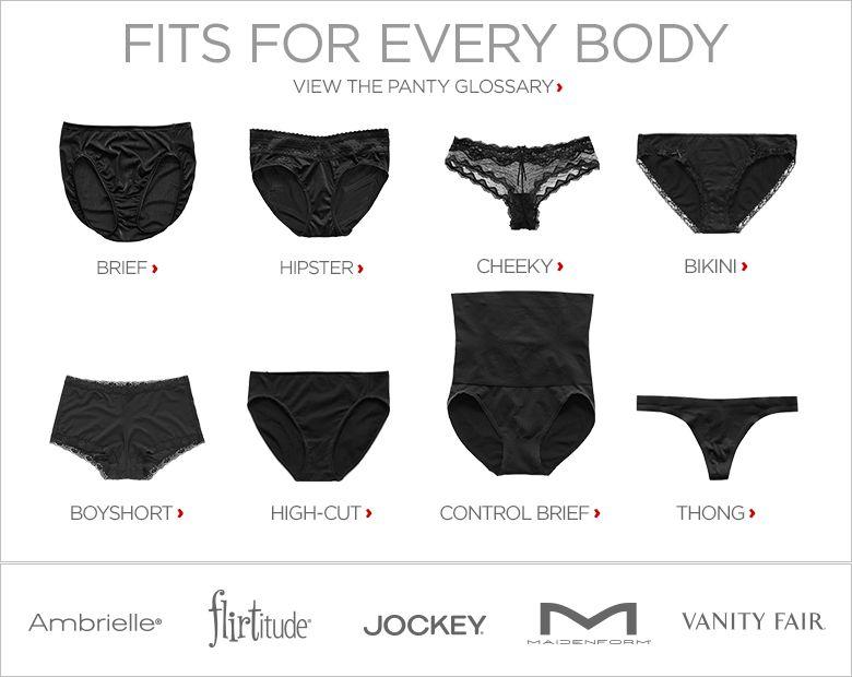 Thongs & Womens Underwear - JCPenney | Ladies UW shapes ...