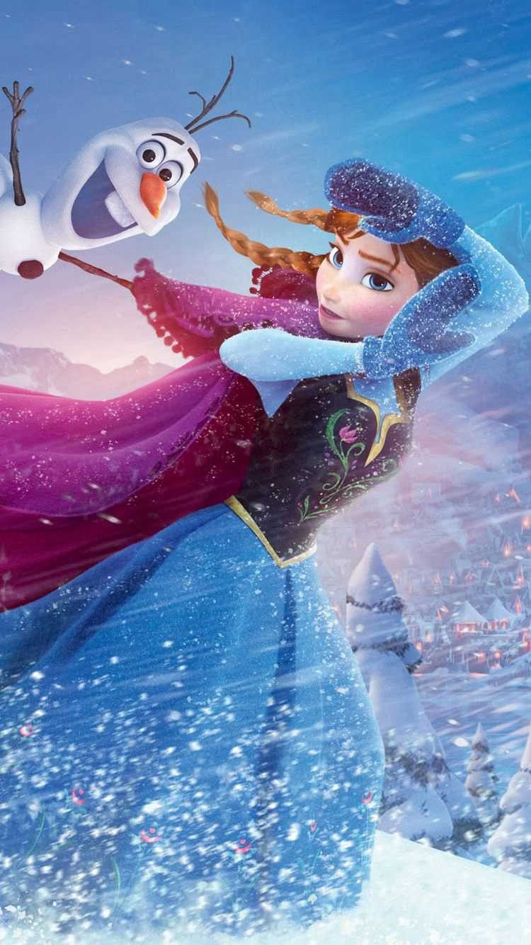 Frozen Anna Olaf IPhone 6 Wallpaper In 2015 Halloween
