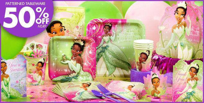 Princess And The Frog Party Supplies Princess And The Frog