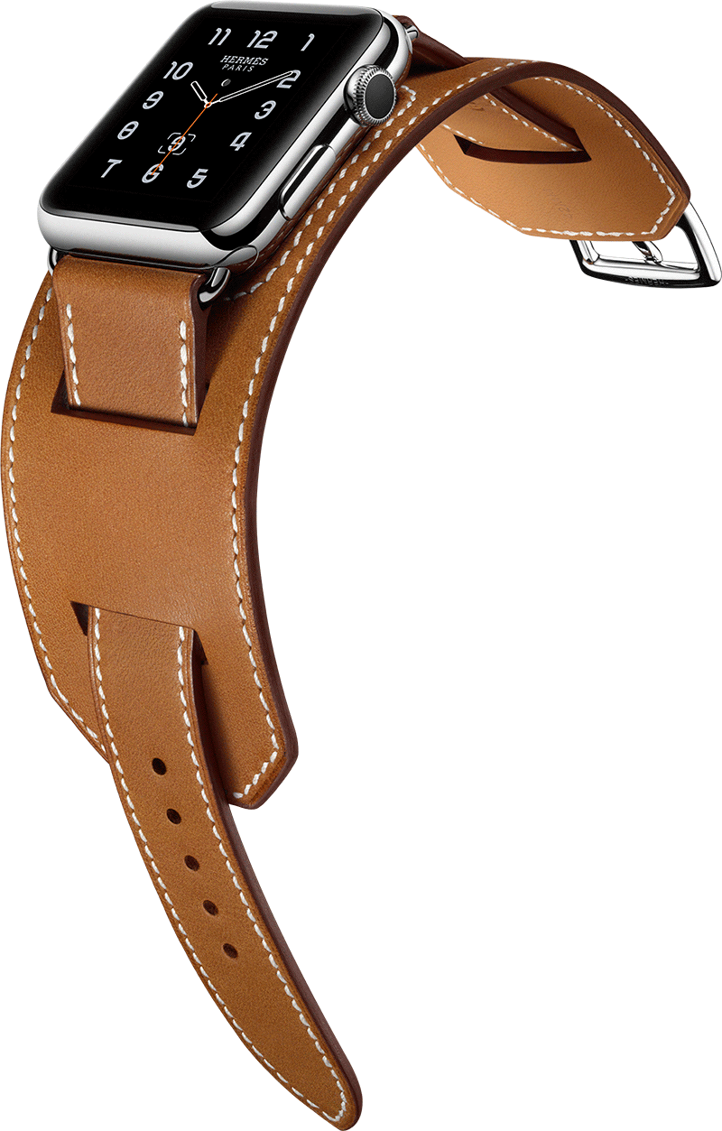 8a3b3eb7c47 Apple Watch Hermes Cuff Inspired by equestrian fittings
