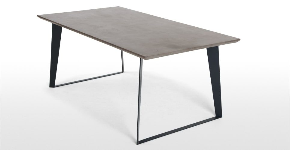 MADE Esstisch, Grau Concrete dining table, Dining table