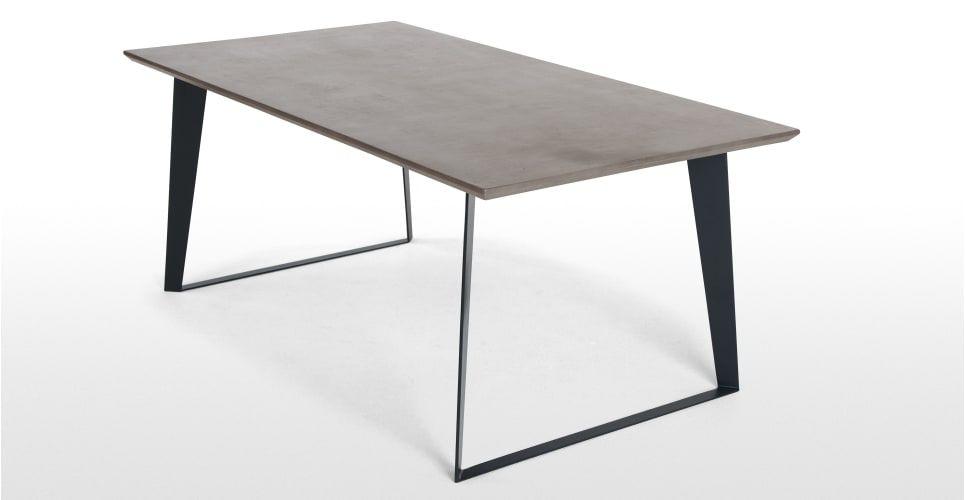 Boone Esstisch, Betongrau | Esstische, Tisch und Zuhause