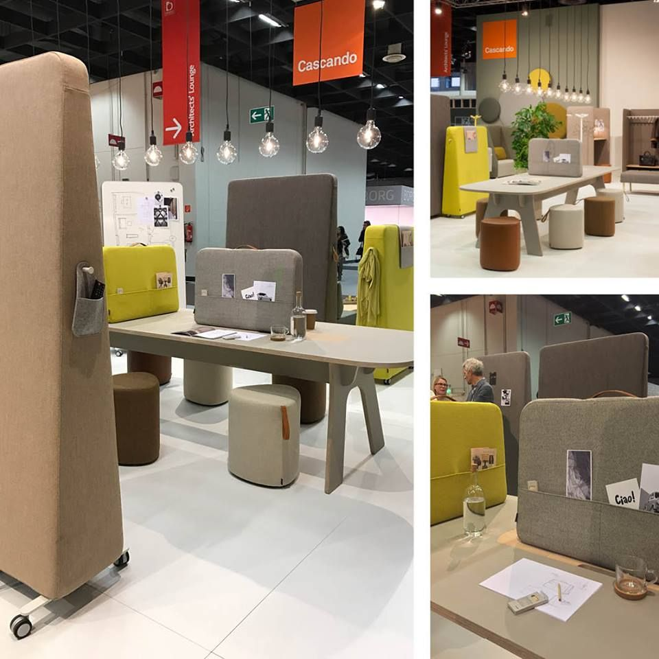 Cascando Hybrid Furniture Calls For Action The Cascando Stand At  # Muebles Fantoni Mar Del Plata