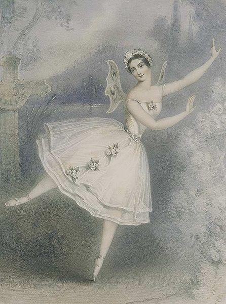 Resultado de imagem para giselle ballet 1800 carlota grisi