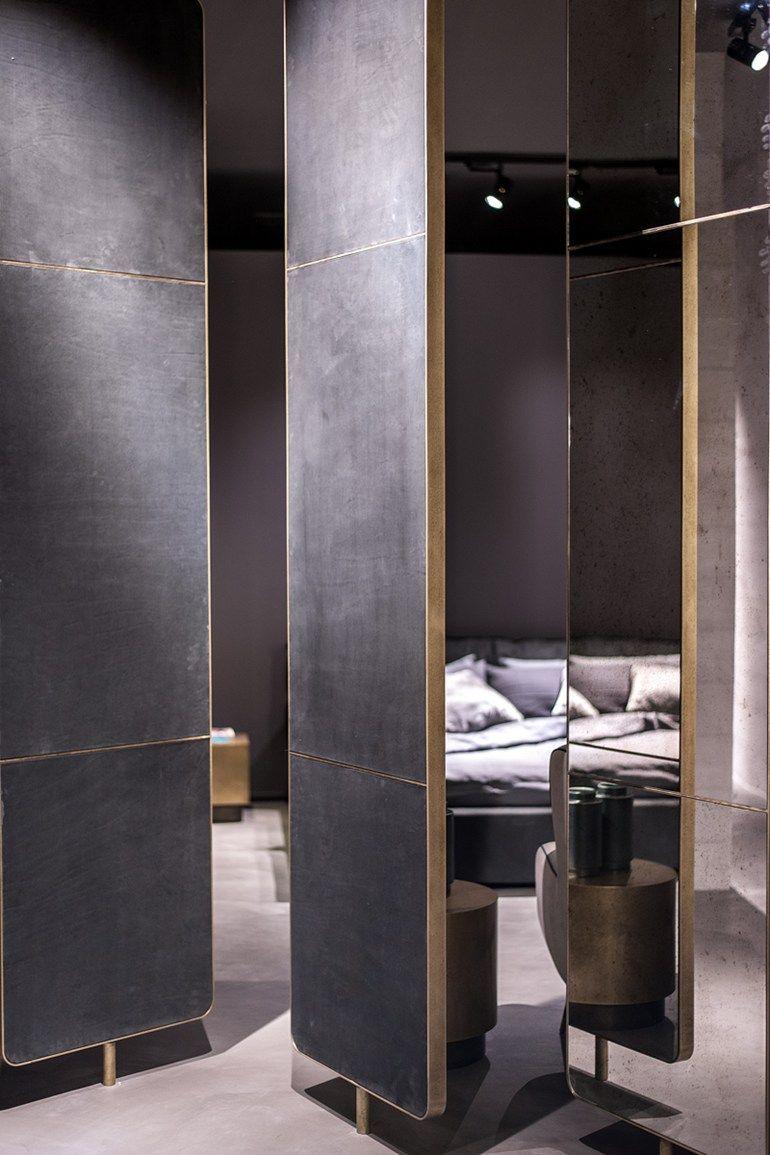 Mirror Screen Oddo Baxter Mirror Room Divider Room Divider Screen Shop Interiors