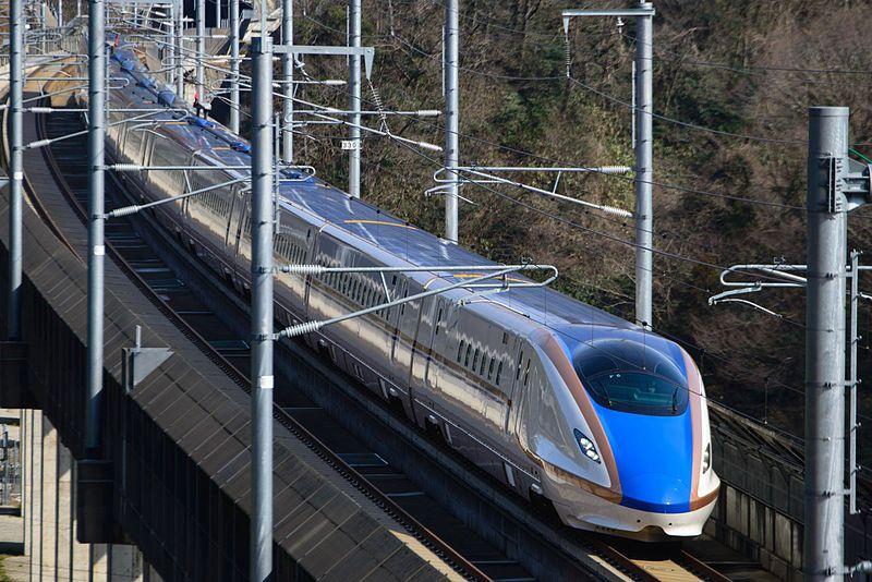 新幹線E7系・W7系電車 | 鉄道 写真, 列車の旅, 新幹線