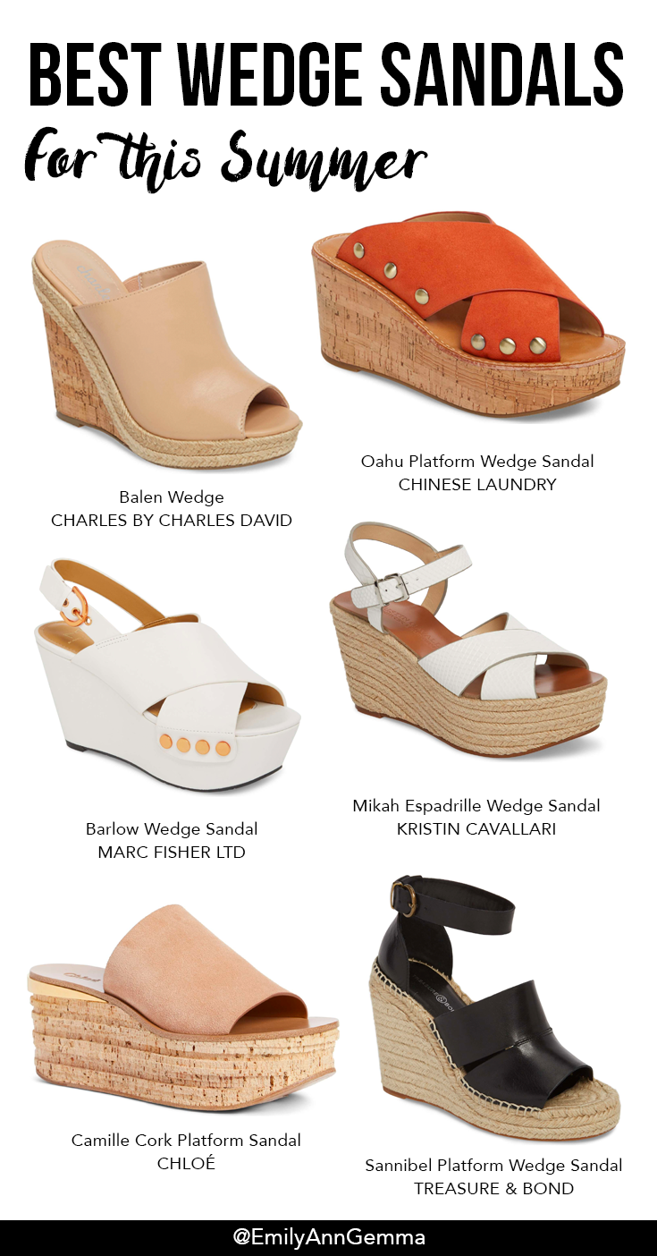 Balen Wedge Charles By Charles David Oahu Platform Wedge Sandal