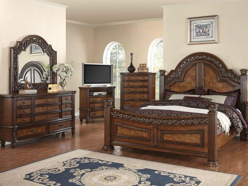 Cardi S Furniture 4pc Bedroom Collections Master Bedroom Set