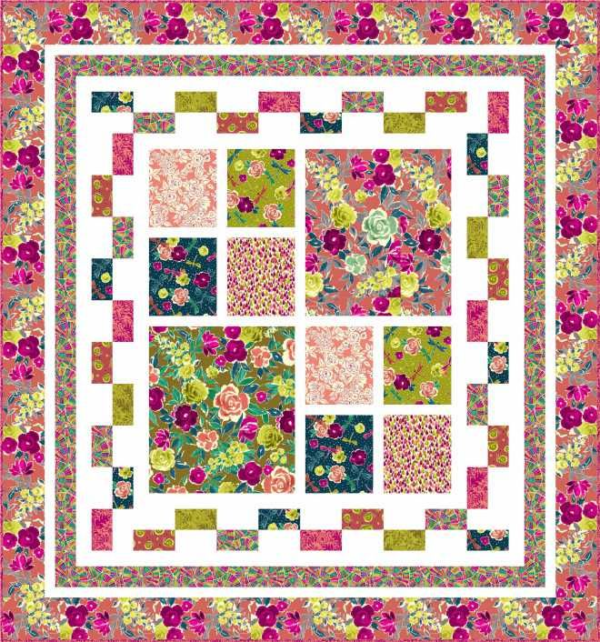 This Is Too Good To Not Share I Had Shared With You This Free To Use Pattern Featuring The Zola Fabrics