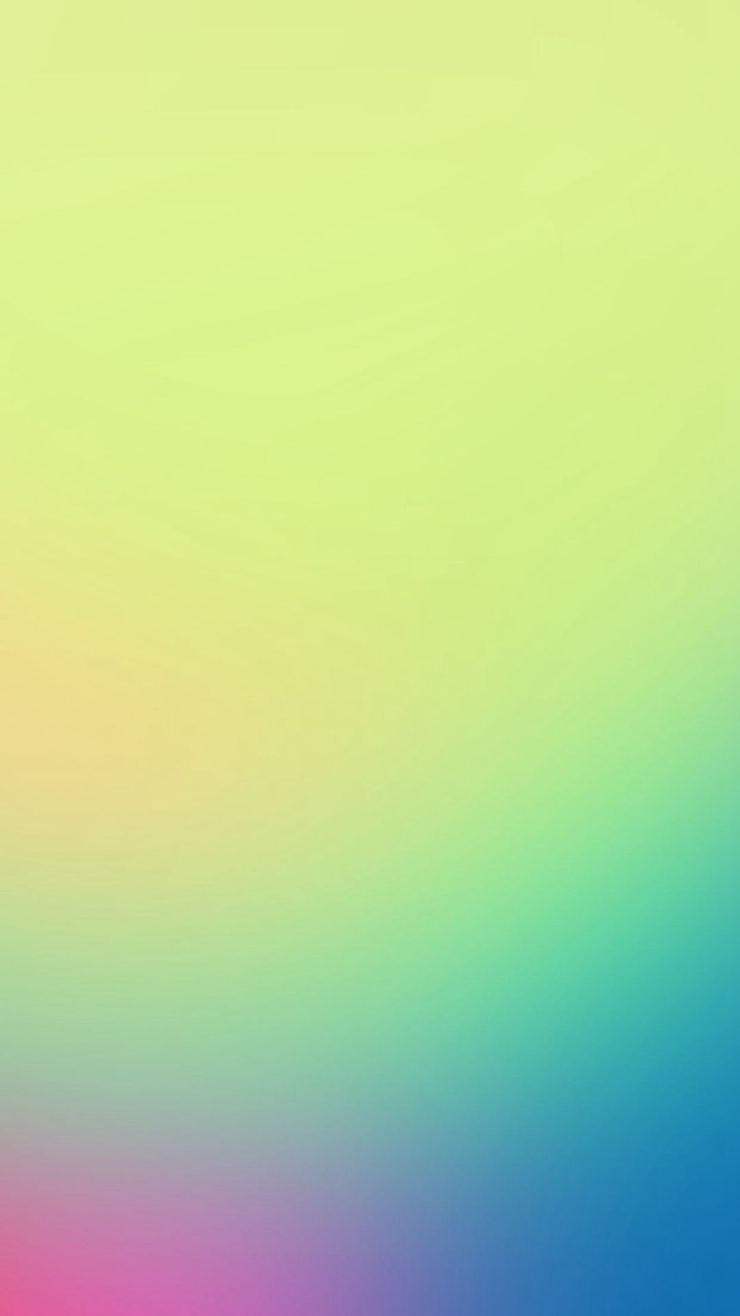 Morning Light Green Gradation Blur iPhone 6 plus
