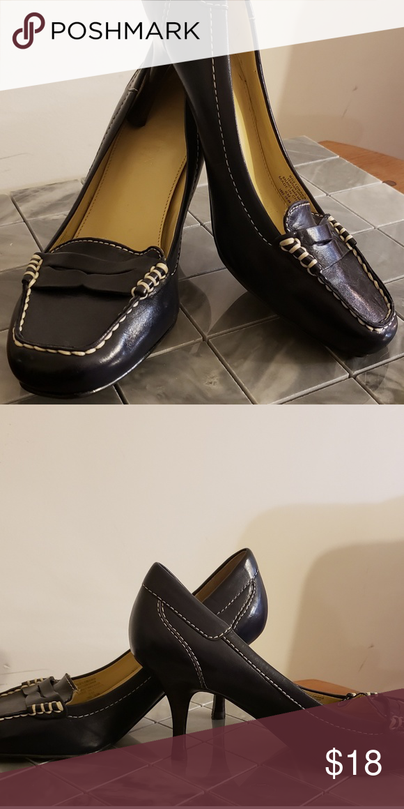 sneakers for cheap 2018 shoes first rate PRICE DROP ⬇ Ralph Lauren Navy Heels Supple and soft navy ...