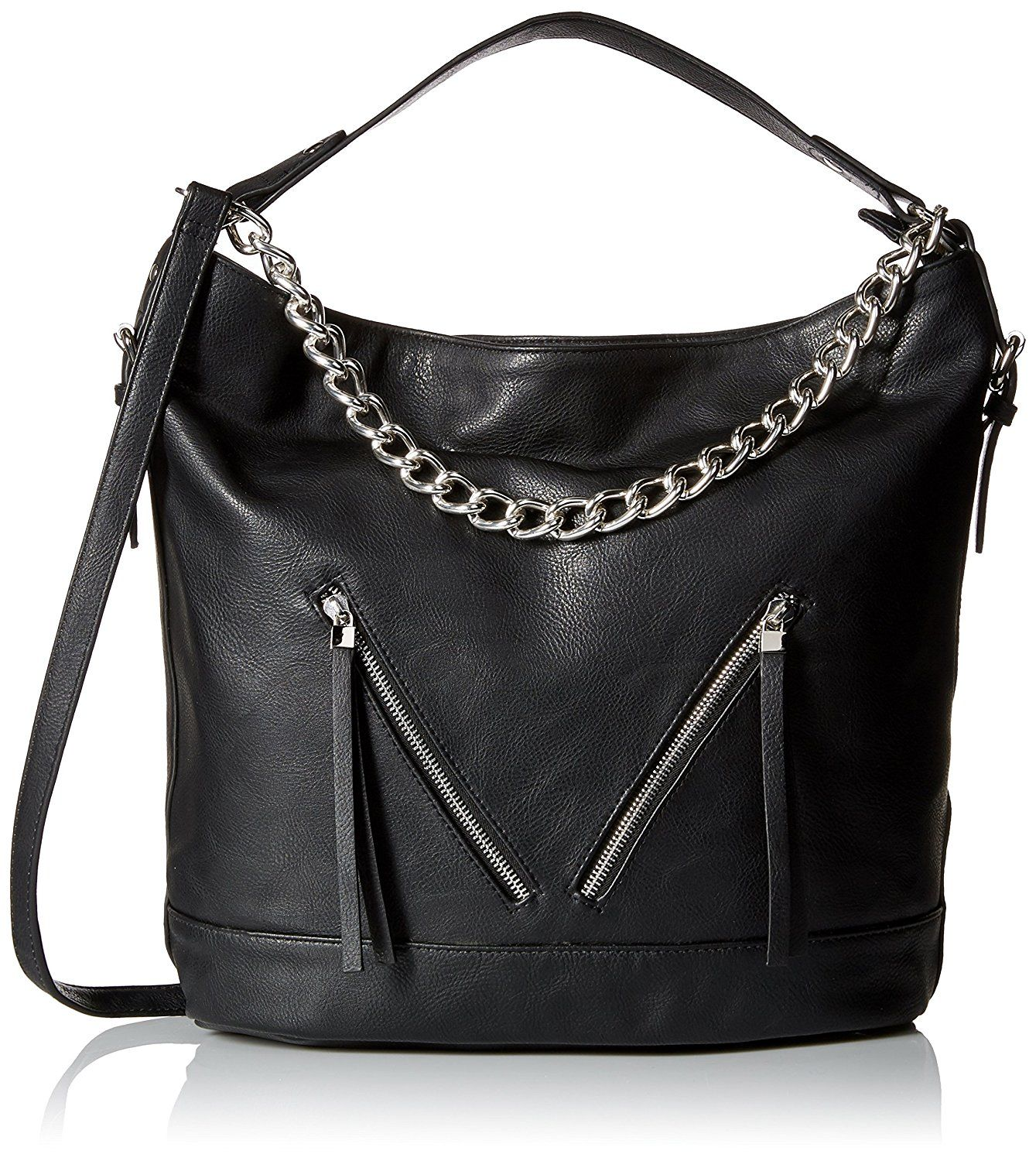 Dolce Girl Convertible Hobo with Chain Convertible Shoulder Bag ... 717079b61002c