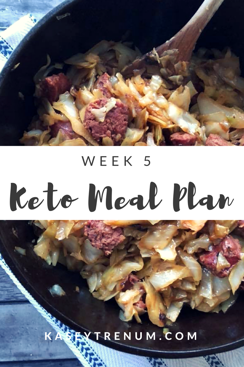 Keto Meal Plan Week 5 #ketomealplan