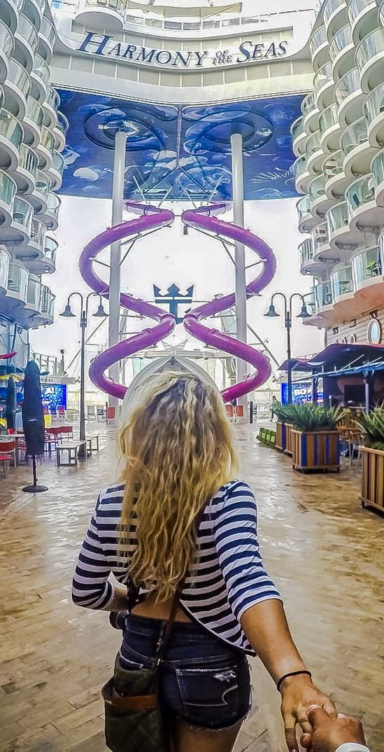 Harmony of the Seas | Let adventure lead the way all across the decks of the world's largest ship. Come Seek the Ultimate Abyss, FlowRider, and more, only on Royal Caribbean.