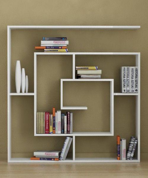 Homedesigning via 20 creative bookshelves modern and modular