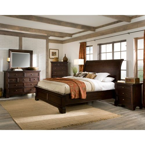Telluride 6 Piece King Bedroom Set Master Bedroom Pinterest King Beds And Mirrored Dresser