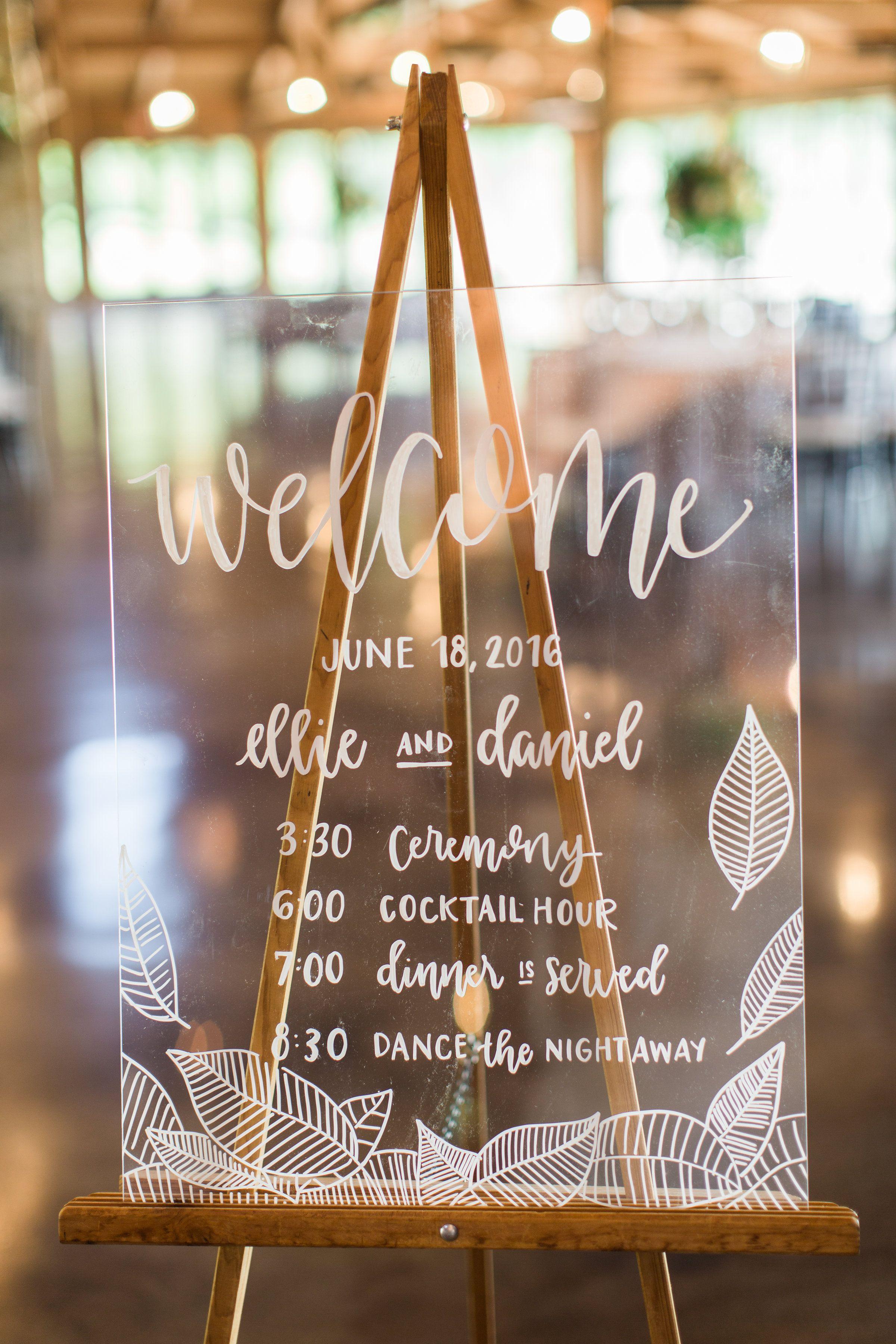Luxury Barn Wedding in White Grey and Gold Wedding signs
