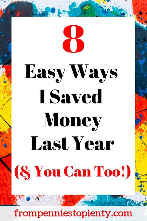 8 einfache Möglichkeiten, wie ich letztes Jahr Geld gespart habe (und Sie können auch)   – FP2P – Money Management
