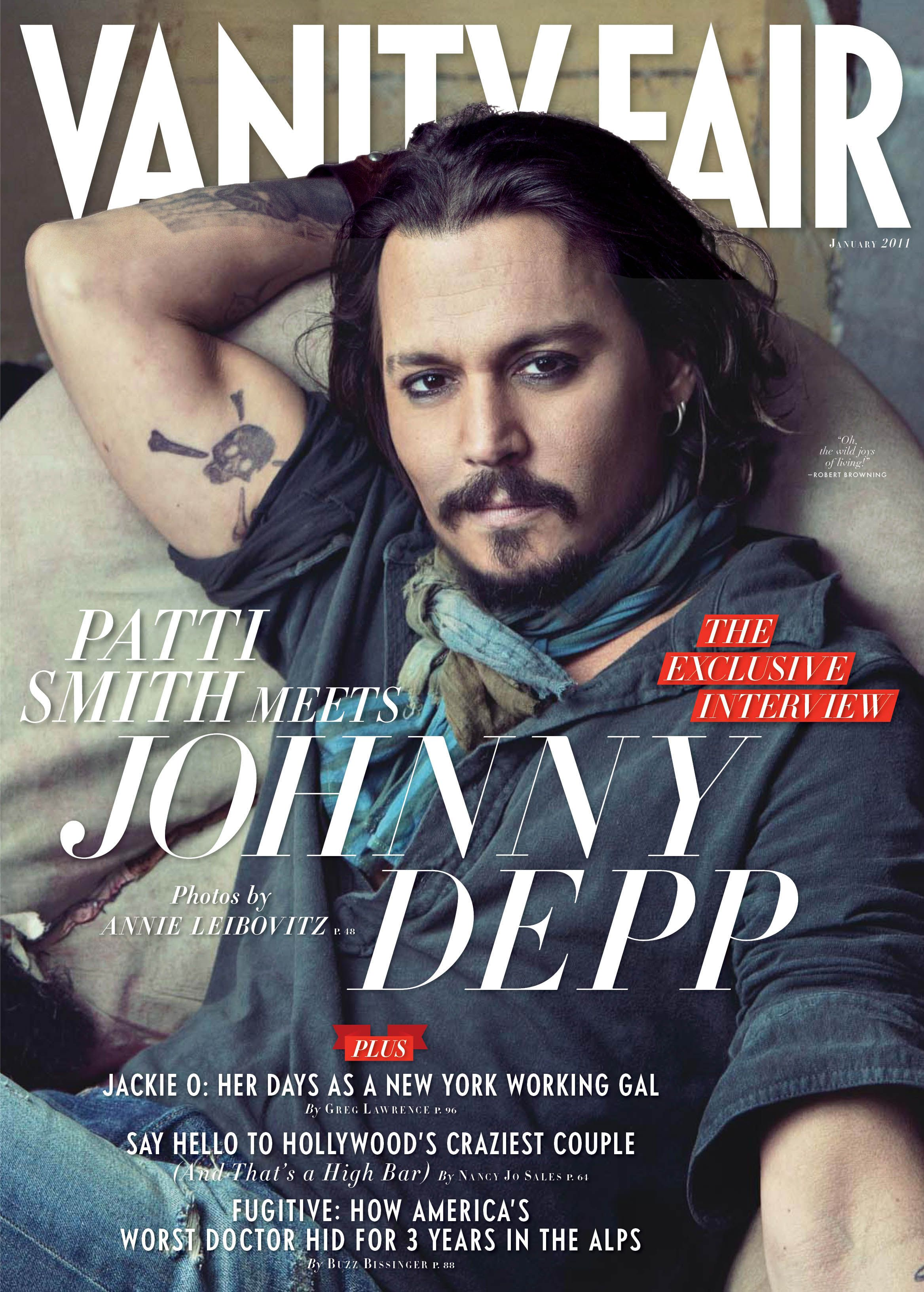 Johnny Talks to Vanity Fair About The Tourist and Angelinas