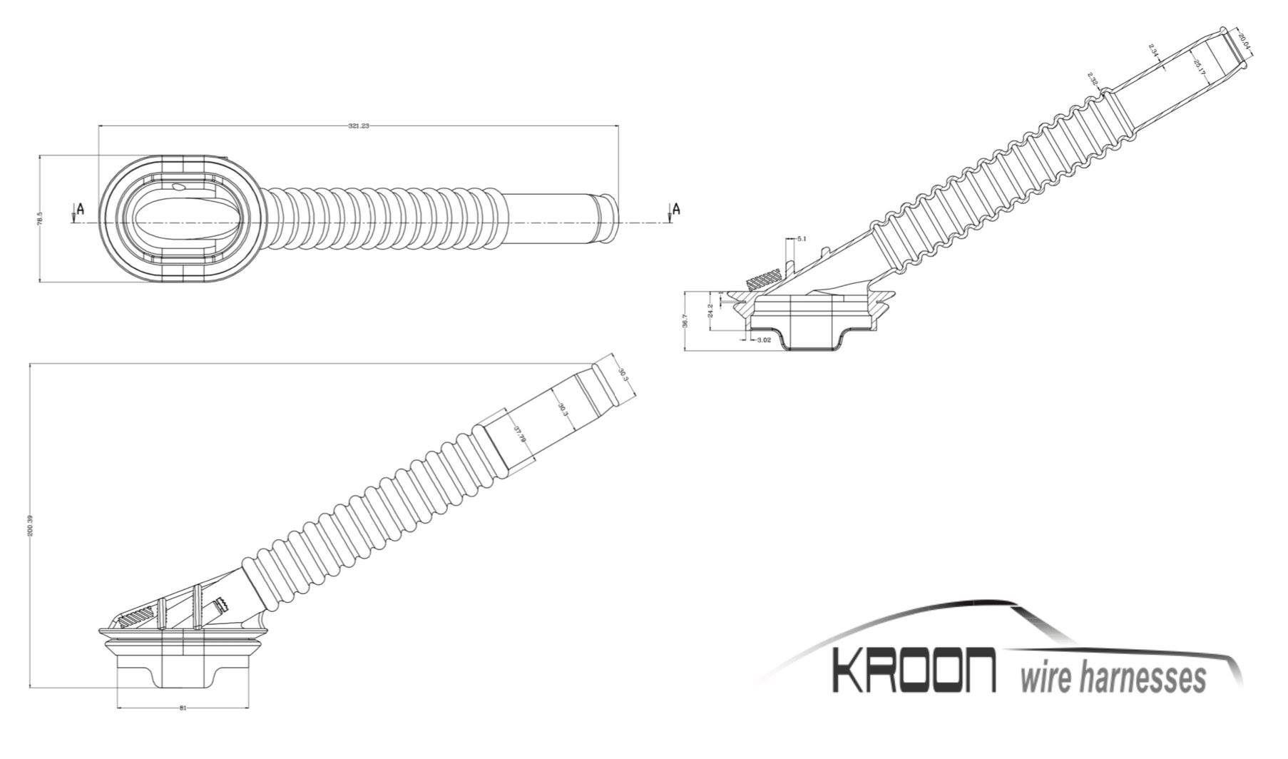 Porsche 944 Firewall Grommet For Engine Wiring Loom Harness